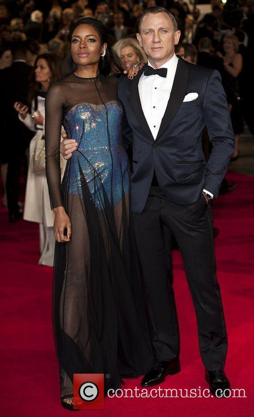 Daniel Craig, Naomie Harris, Royal Albert Hall