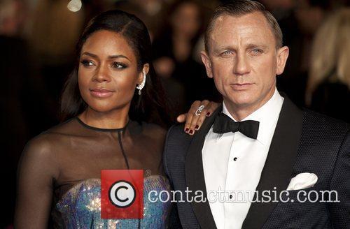 Daniel Craig, Naomie Harris and Royal Albert Hall 6