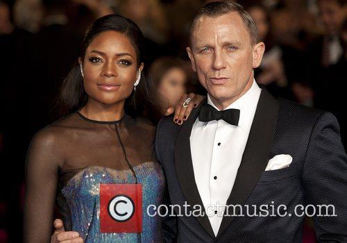 Daniel Craig, Naomie Harris and Royal Albert Hall 1