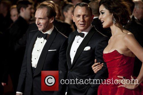 Daniel Craig Ralph Fiennes, Berenice Marlohe and Royal Albert Hall 4