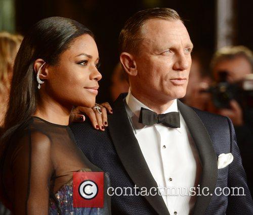 Daniel Craig, Naomie Harris, Skyfall, Royal Albert Hall, London and England 1