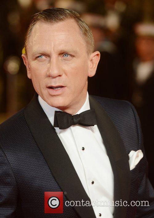 Daniel Craig, Skyfall, Royal Albert Hall, London and England 1