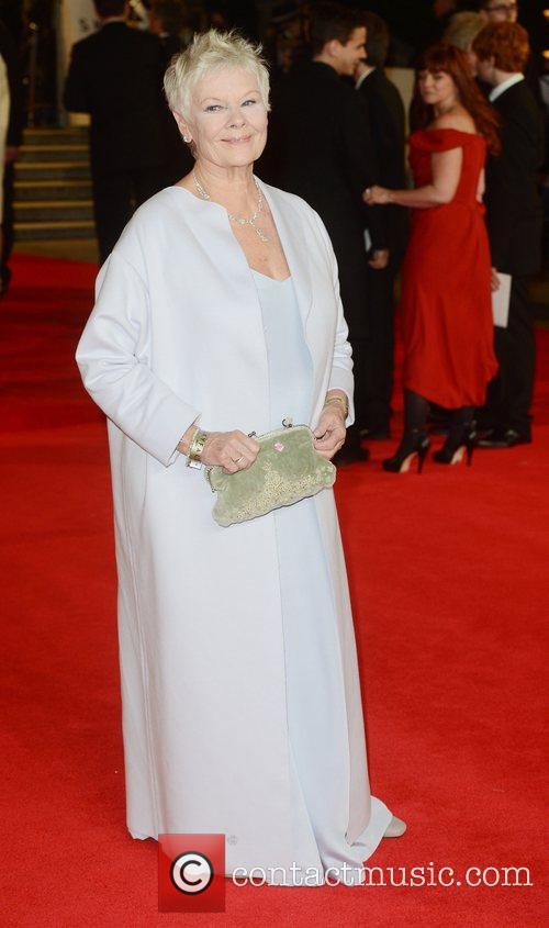 Dame Judi Dench - Skyfall - London Premiere