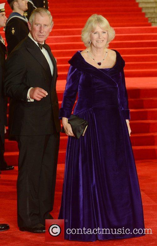 Prince Charles, The Duchess Of Cornwall, Skyfall, Royal Albert Hall, London and England 2