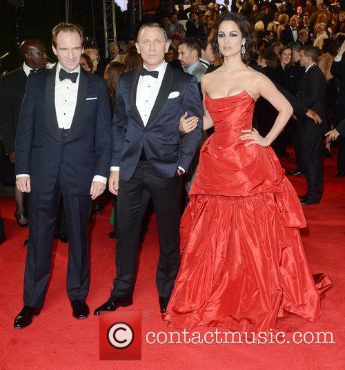 Ralph Fiennes, Berenice Marlohe, Daniel Craig, Skyfall, Royal Albert Hall, London and England 4