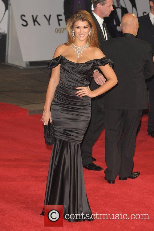 amy willerton royal world premiere of skyfall 4140550