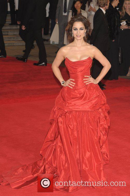 Berenice Marlohe and Royal Albert Hall 9