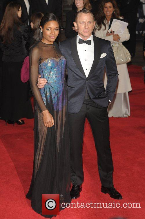 Daniel Craig, Naomie Harris and Royal Albert Hall 7