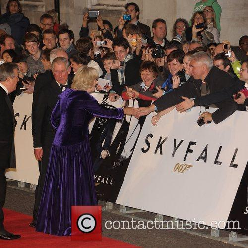 Prince Charles, Wales, Camilla, Duchess, Cornwall and Royal Albert Hall 4