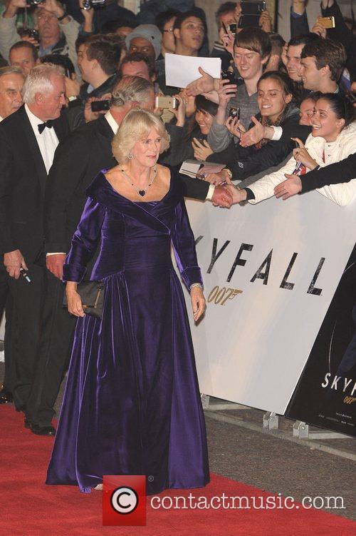 Prince Charles, Wales, Camilla, Duchess, Cornwall and Royal Albert Hall 6