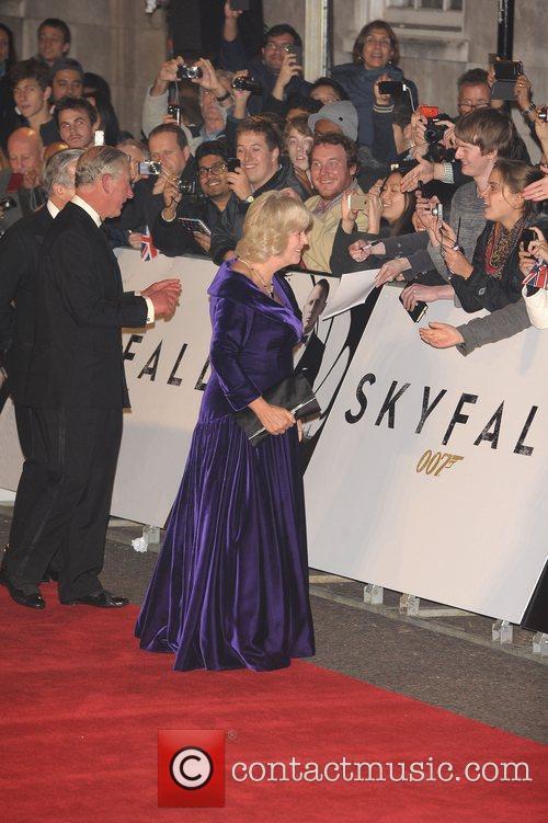 Prince Charles, Wales, Camilla, Duchess, Cornwall and Royal Albert Hall 5