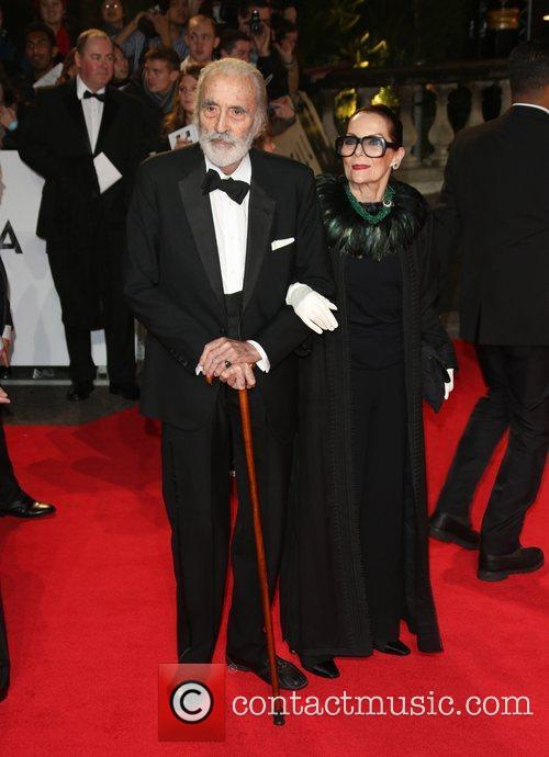 Christopher Lee and Birgit Kroencke 6