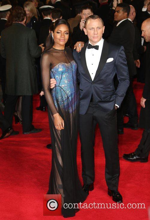 Naomie Harris and Daniel Craig 1