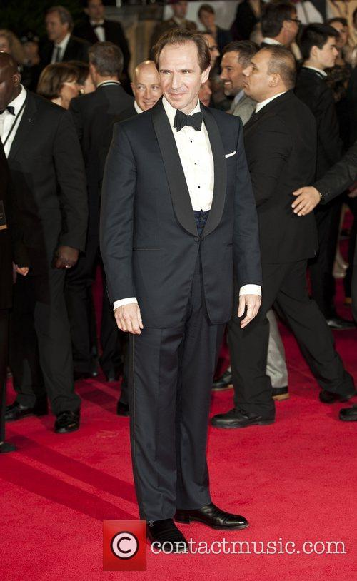Ralph Fiennes, Royal World Premiere, Skyfall, Royal Albert Hall, Arrivals. London and England 1