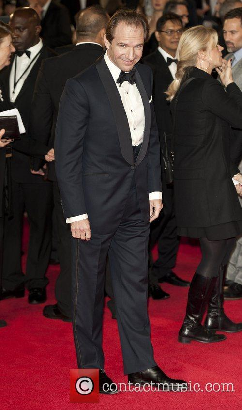 Ralph Fiennes, Royal World Premiere, Skyfall, Royal Albert Hall, Arrivals. London and England 2
