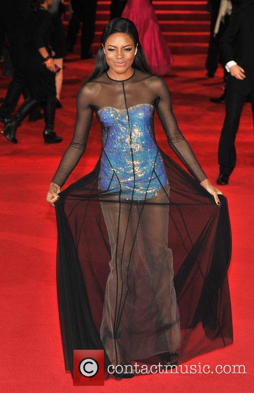 Naomie Harris and Royal Albert Hall 5