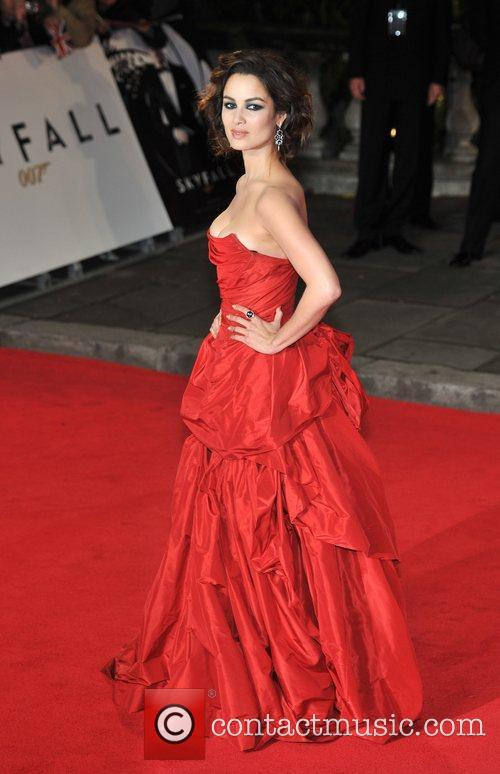 Berenice Marlohe and Royal Albert Hall 3