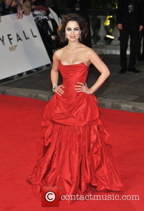 Berenice Marlohe and Royal Albert Hall 7