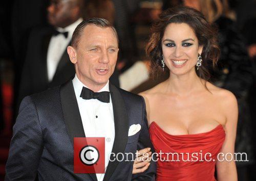 Daniel Craig, Berenice Marlohe, Royal Albert Hall