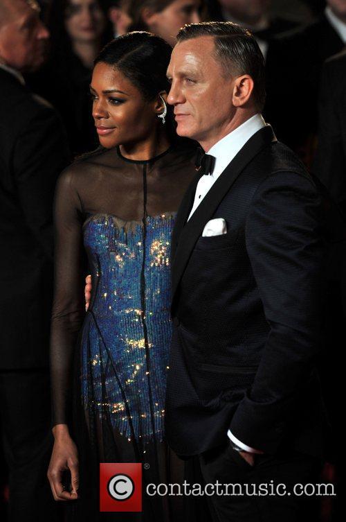Daniel Craig, Naomie Harris and Royal Albert Hall 3