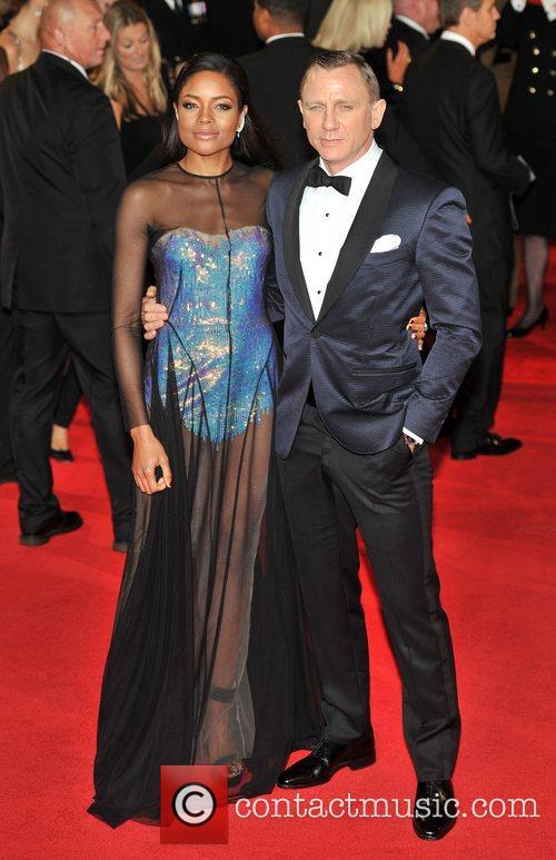Daniel Craig, Naomie Harris and Royal Albert Hall 2