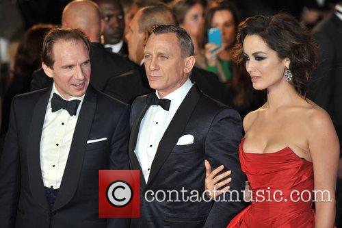 Ralph Fiennes, Daniel Craig, Berenice Marlohe and Royal Albert Hall 3