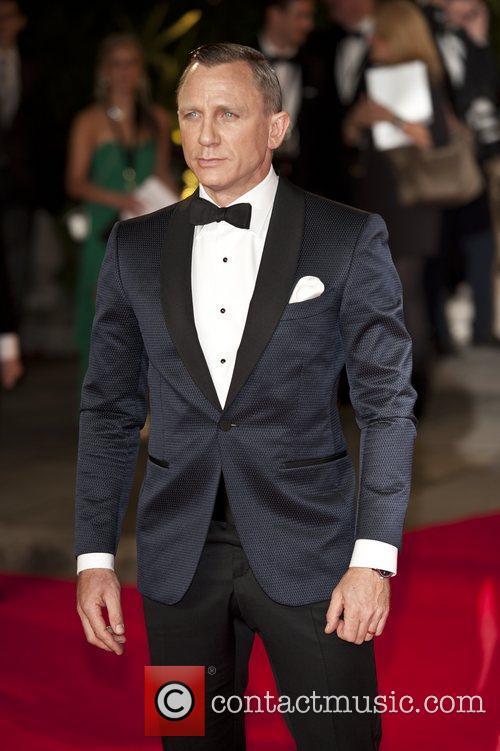 Daniel Craig, Royal Albert Hall