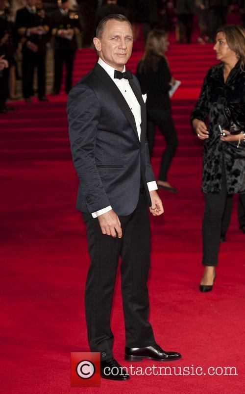 Daniel Craig - Skyfall Premier - London