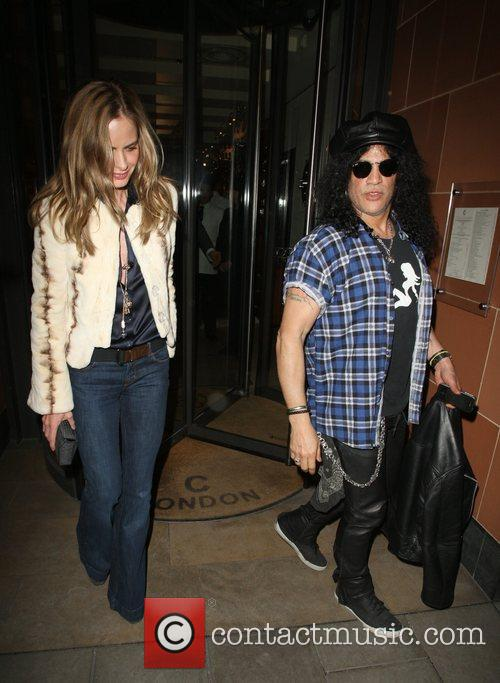 Slash and Trinny Woodall 6