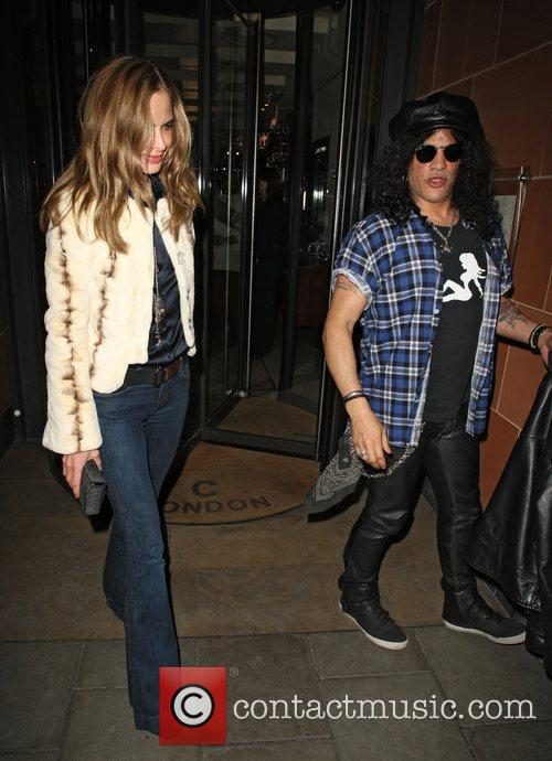 Slash and Trinny Woodall 7