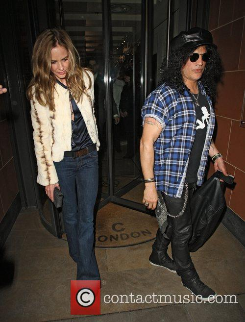 Slash and Trinny Woodall 8