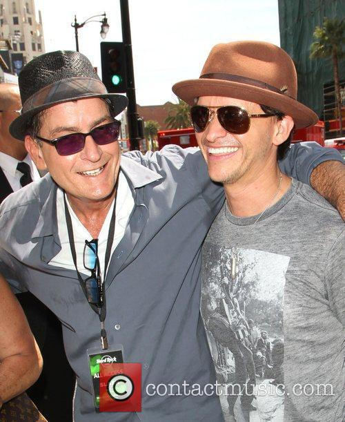Charlie Sheen and Clifton Collins Jr. 3