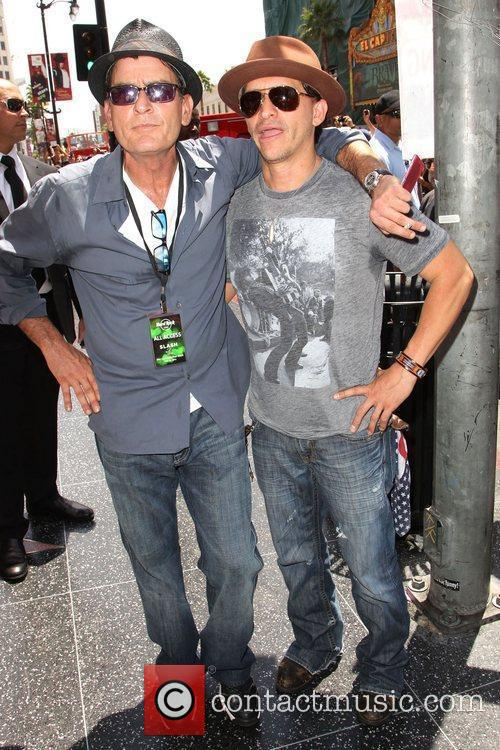 Charlie Sheen and Clifton Collins Jr. 4