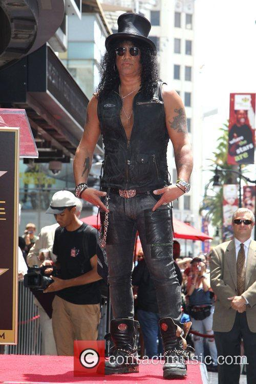 Slash and Star On The Hollywood Walk Of Fame 10