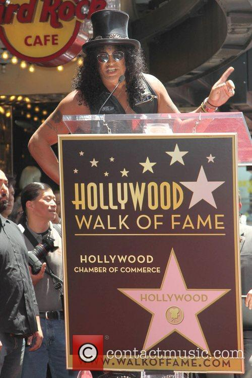 Slash and Star On The Hollywood Walk Of Fame 4