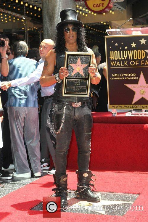 Slash and Star On The Hollywood Walk Of Fame 5
