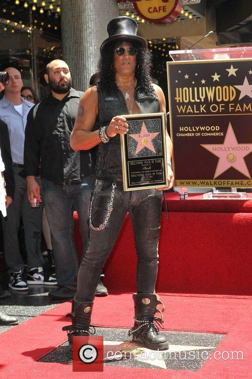 Slash and Star On The Hollywood Walk Of Fame 6
