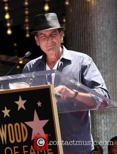 charlie sheen slash honored with a star 3985784