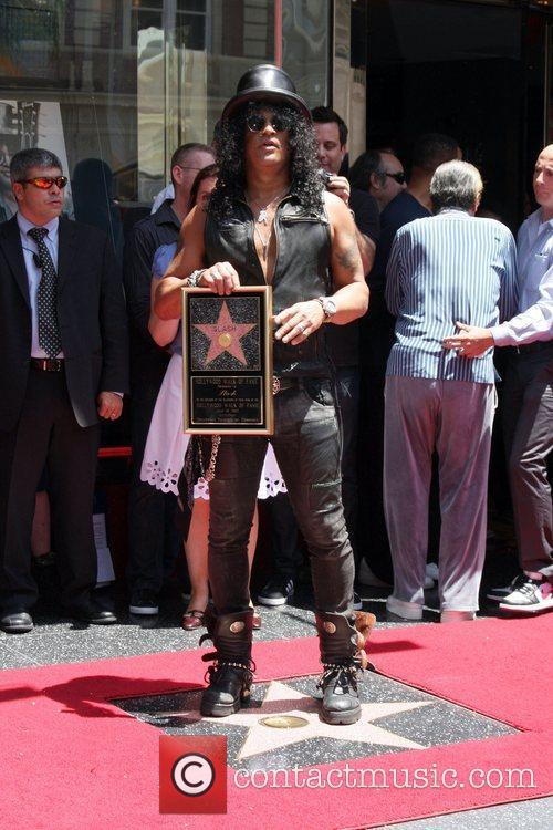 Slash and Star On The Hollywood Walk Of Fame 9