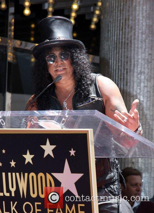 Slash and Star On The Hollywood Walk Of Fame 11