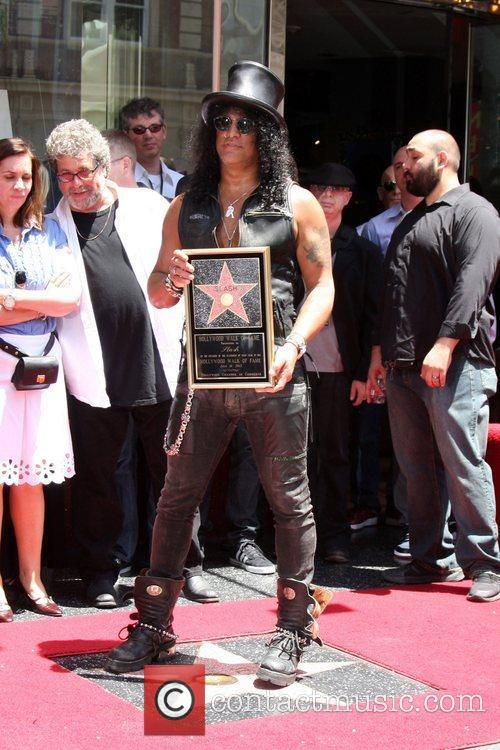 Slash and Star On The Hollywood Walk Of Fame 13