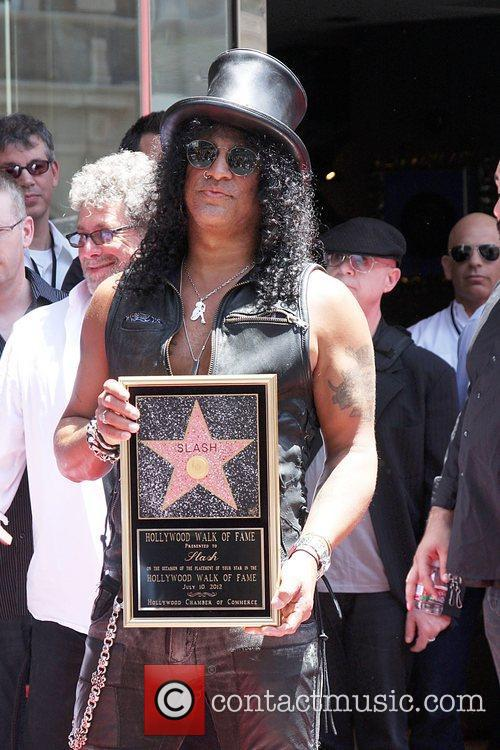 Slash and Star On The Hollywood Walk Of Fame 15