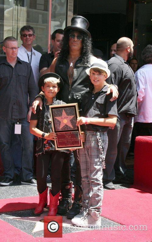 Slash and Star On The Hollywood Walk Of Fame 16