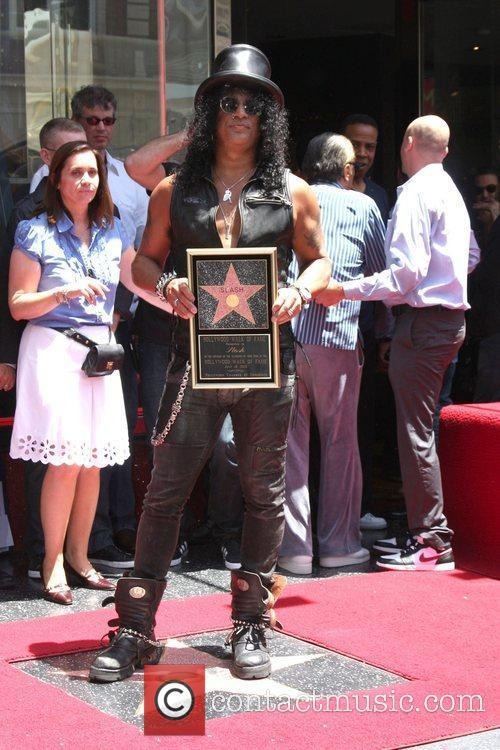 Slash and Star On The Hollywood Walk Of Fame 17