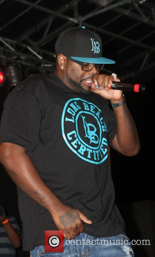 Crooked I of Slaughterhouse Slaughterhouse and guests perform...