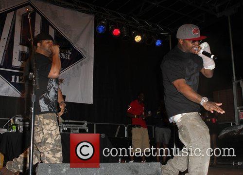 Joell Ortiz and Royce da 5'9 of Slaughterhouse...