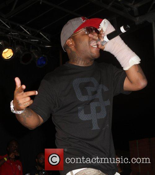 Royce da 5'9 of Slaughterhouse Slaughterhouse and guests...