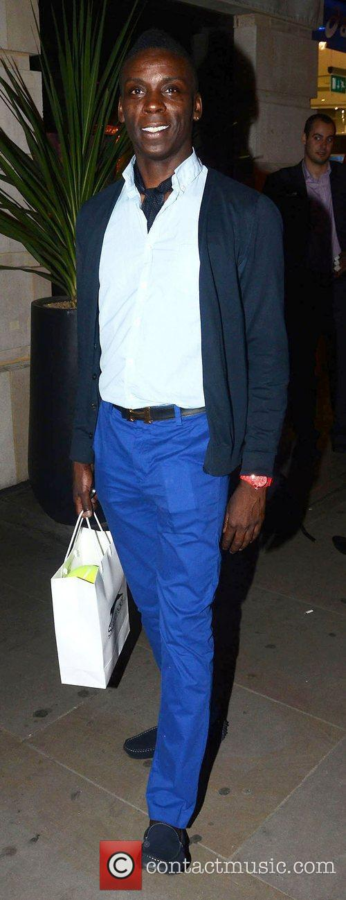 Leroy Dawkins,  at the Slazenger Wimbledon Party...