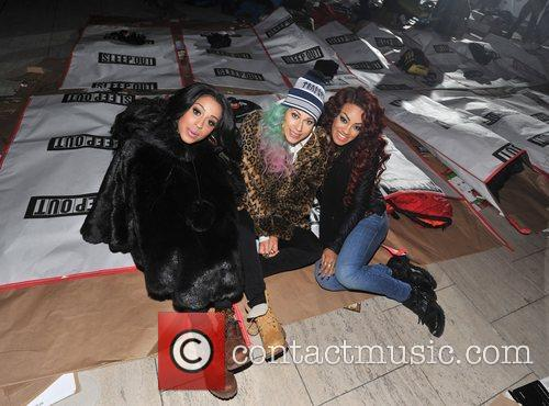 Karis Anderson, Courtney Rumbold, Alexandra Buggs and Stooshe 4
