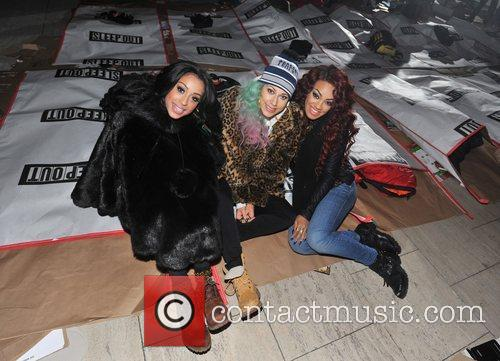 Karis Anderson, Courtney Rumbold, Alexandra Buggs and Stooshe 5